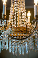 Russian  Crystal Chandelier (detail) $1195